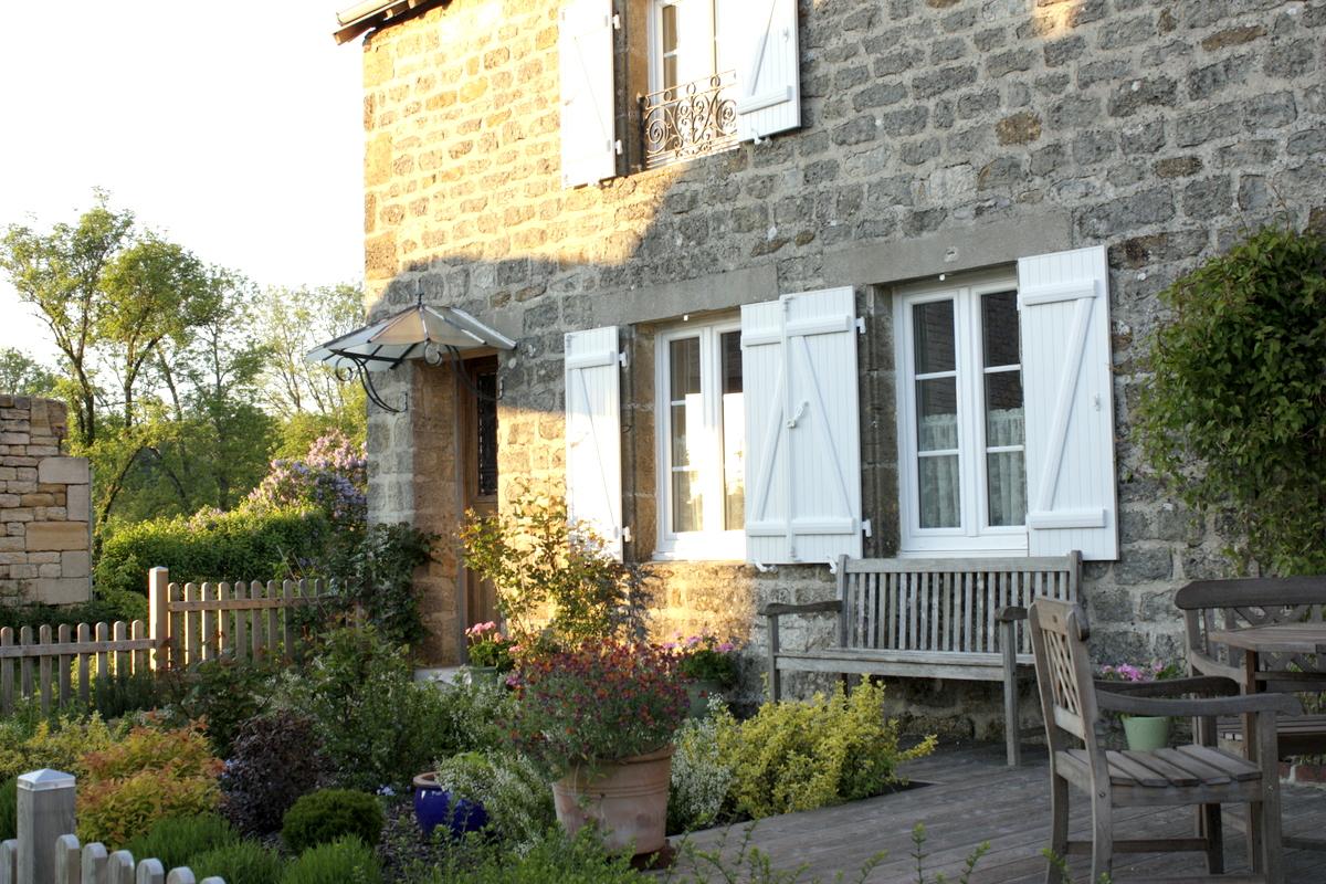 Le jardin de la marquise - Les facades des maisons ...